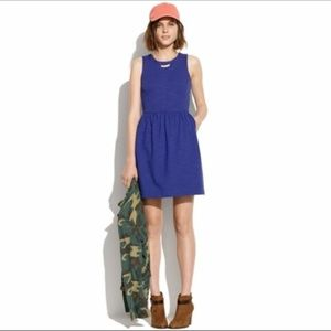 Madewell Indigo Blue Sheath Afternoon Dress S